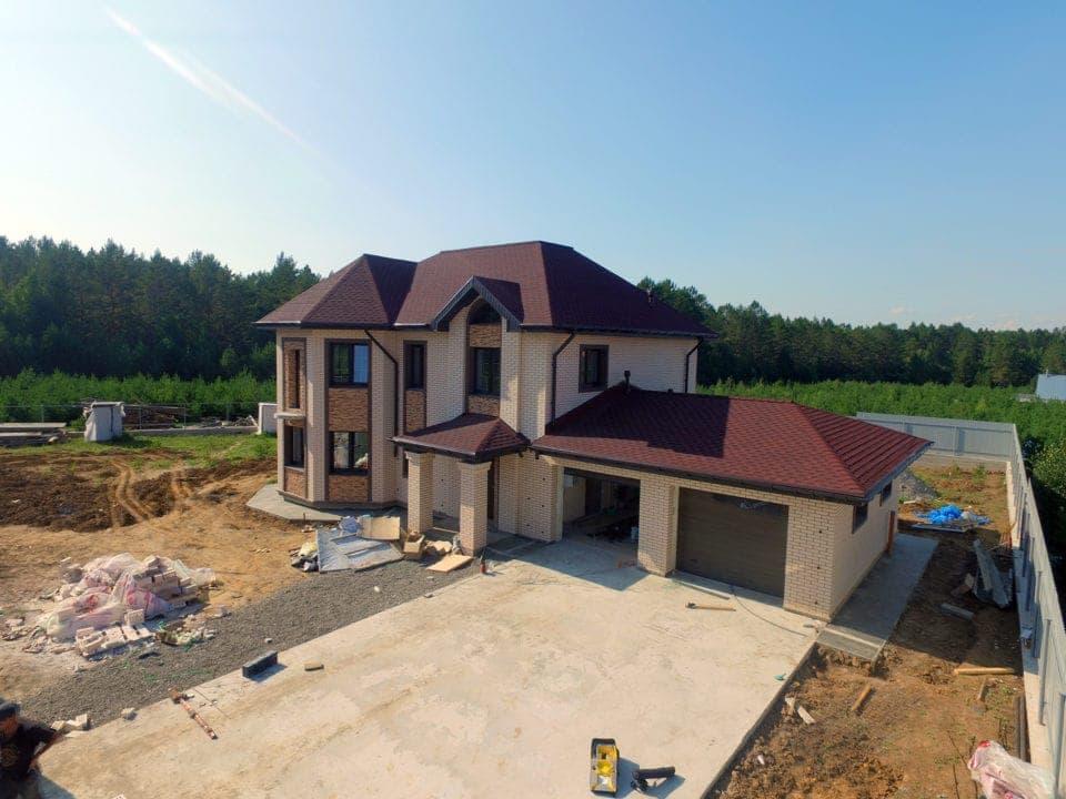 Двухэтажный дом в пос. Горный - Фасад 1