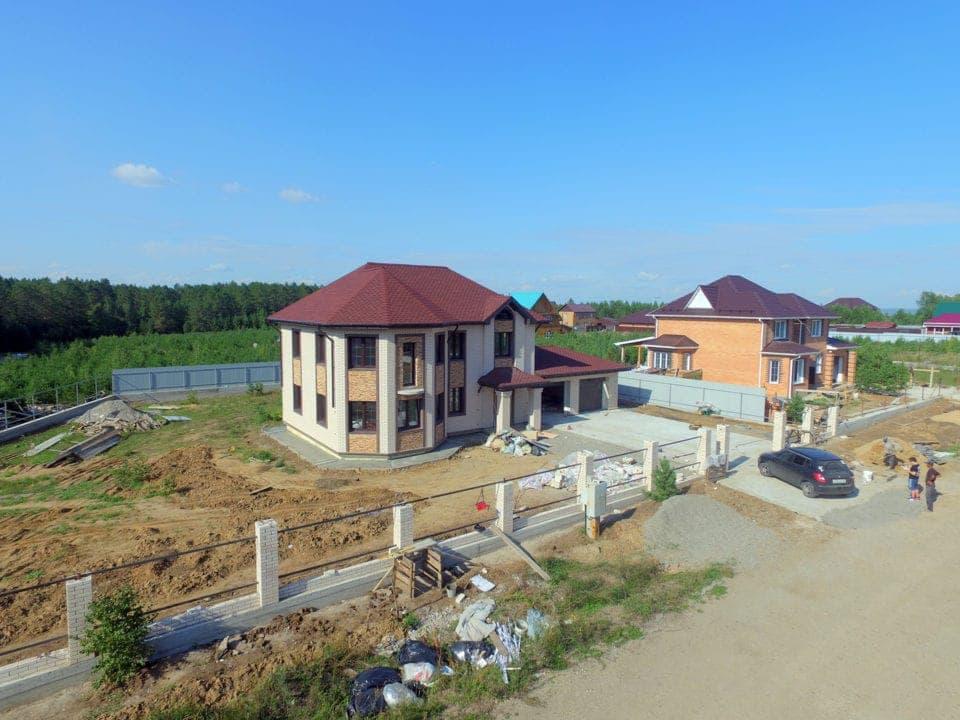 Двухэтажный дом в пос. Горный - Фасад 2