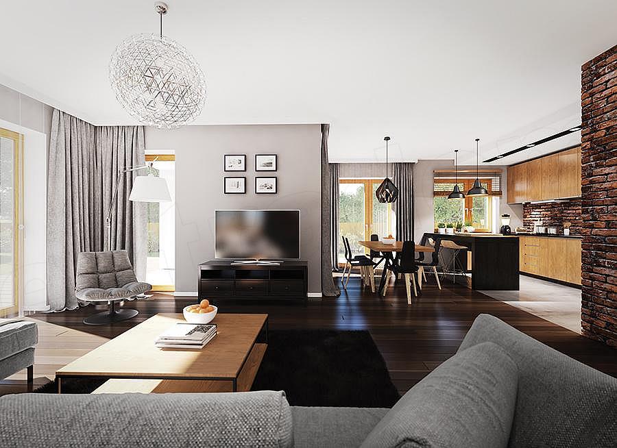 """Проект одноэтажного дома """"Мифрин"""" Внутри 4"""