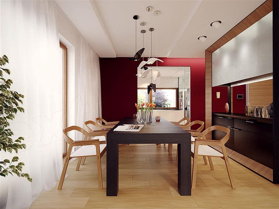 """Проект двухэтажного дома """"Доминус"""" с гаражом 16 на 13 (233 кв.м.) - Внутри 2"""