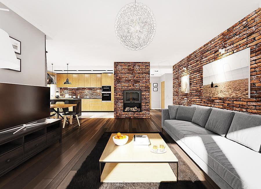 """Проект небольшого одноэтажного дома """"Мифрин"""" 15 на 14 (146 кв.м) - Внутри 3"""