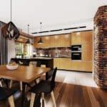"""Проект небольшого одноэтажного дома """"Мифрин"""" 15 на 14 (146 кв.м) - Внутри 2"""
