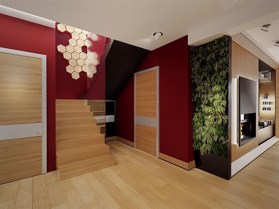 """Проект двухэтажного дома """"Доминус"""" с гаражом 16 на 13 (233 кв.м.) - Внутри 4"""