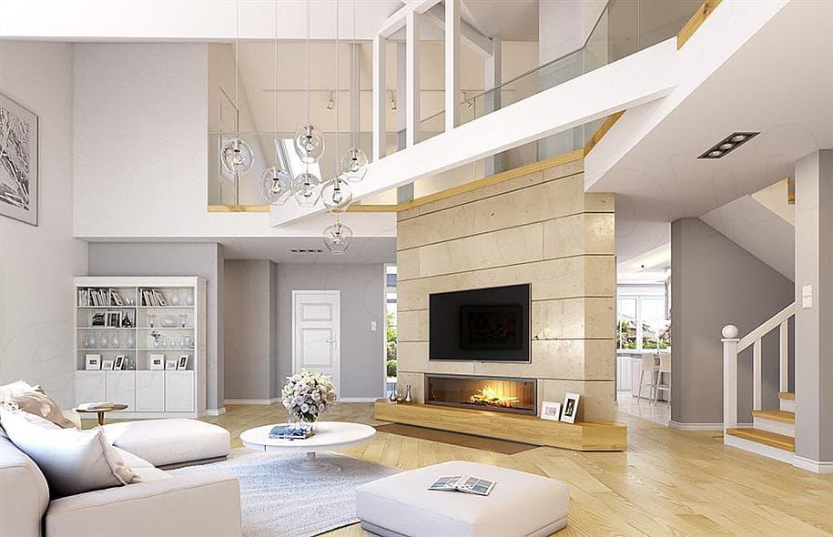"""Проект одноэтажного дома """"Абраам"""" в классическом стиле (160 м2) - Внутри 3"""