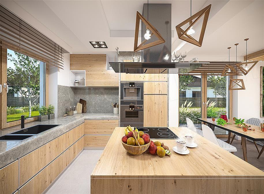 "Проект одноэтажного дома ""Дарио"" Внутри 3"