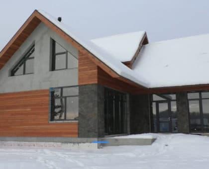 Двухэтажный индивидуальный жилой дом в СНТ Ручеек