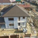 Строительство двух двухэтажных домов из газобетона в г. Ангарск - Фасад 12