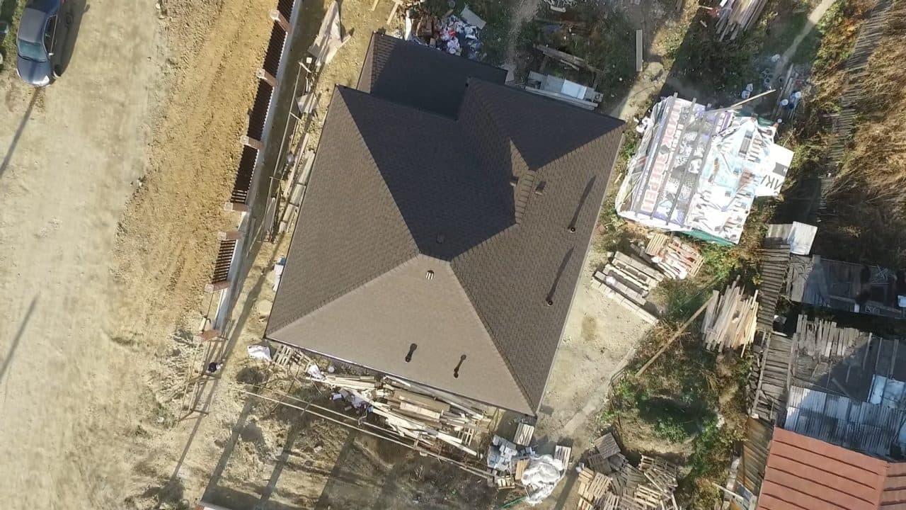 Строительство двух двухэтажных домов из газобетона в г. Ангарск - Фасад 5