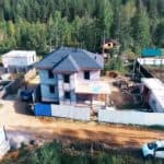 Двухэтажный дом из газобетона - Фасад 8
