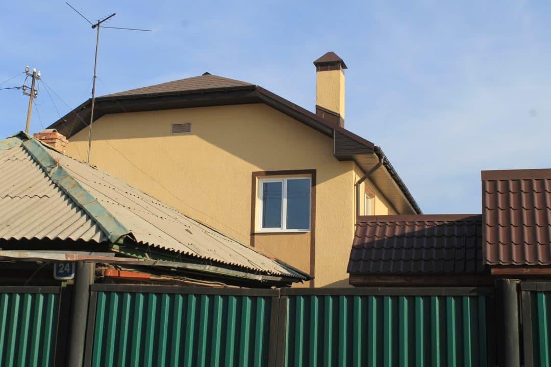 Двухэтажный дом из газобетона в Иркутске 126 кв.м. - Фасад 2