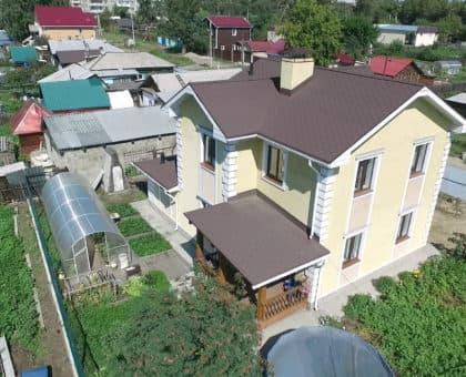 Дом из газобетона в Иркутске 167 кв.м. - Фасад 1