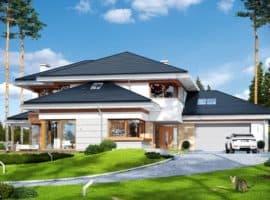 Резиденция Ривьера планировка фасад 1
