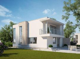 """Проект дома с тремя спальнями """"Бурленге"""" фасад 1"""