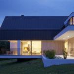 "Проект дома с гаражом на 2 авто ""Мутала"" фасад 4"